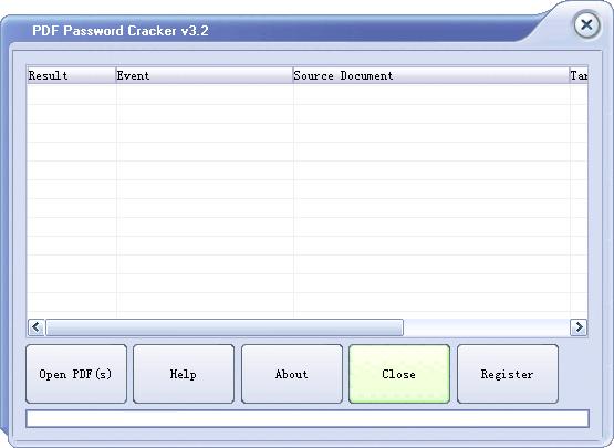 PDF Password Cracker截图3