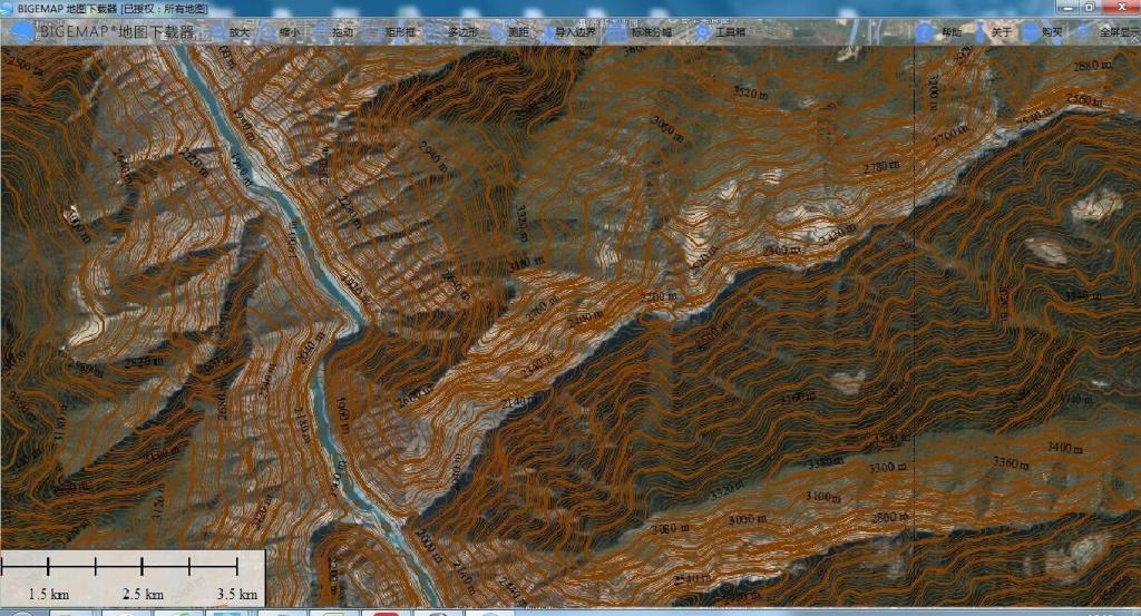 BIGEMAP地图下载器截图4