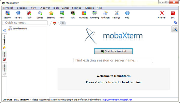 MobaXterm截图1