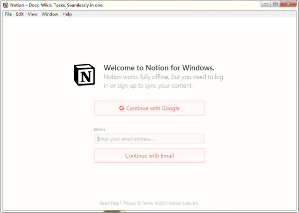 Notion云笔记软件截图1
