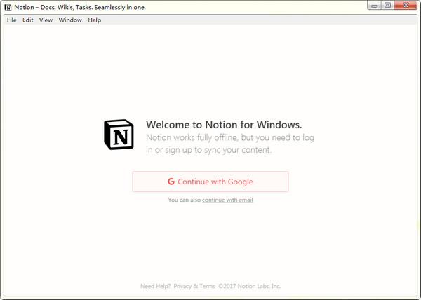 Notion云笔记软件截图2