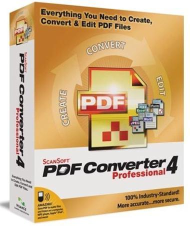 ScanSoft PDF Converter Pro截�D4